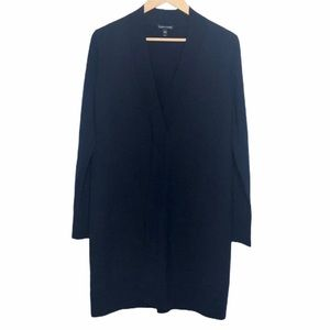 Eileen Fisher Split Front Tunic Seater Navy Blue S